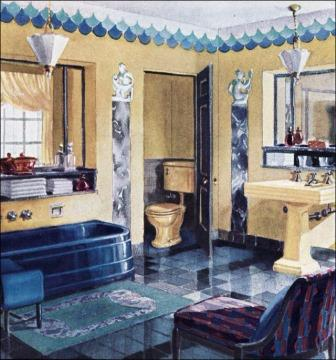 Art Deco Original Period Bathrooms Amp Bathroom Design