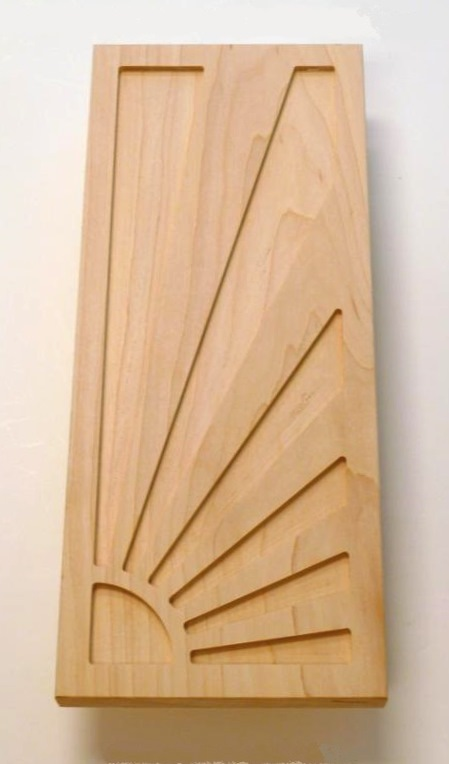 New Art Deco Rising Sun bedroom wardrobe handle ... : doors art nouveau - pezcame.com