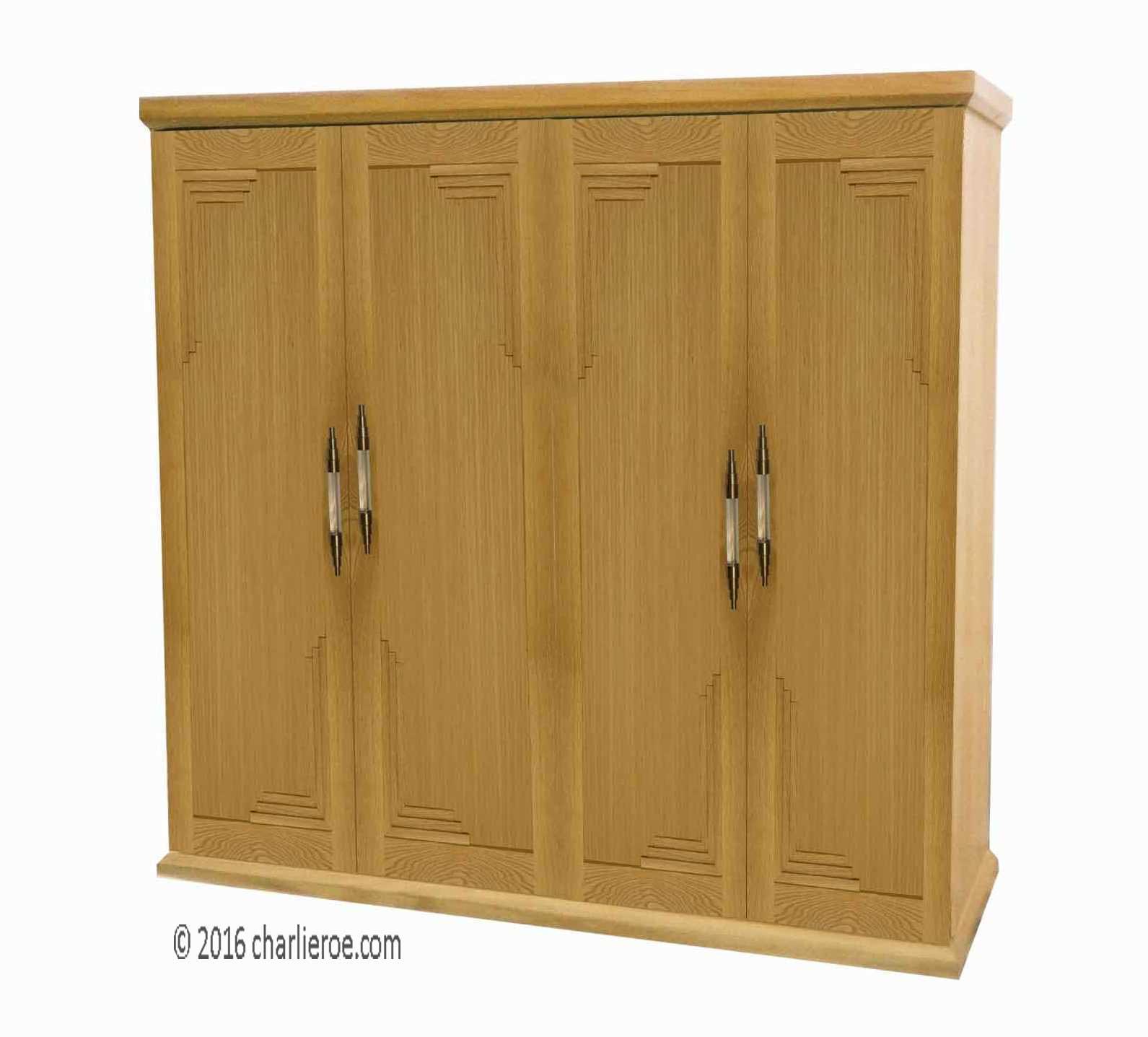 Built In Armoire Bedroom Art Deco Bedroom Suite Young Male Bedroom Decorating Ideas Bedroom Decor Sets: New Art Deco Bedroom Freestanding & Built-in 2 3 & 4 Door