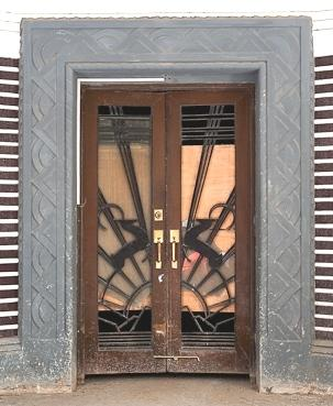 Art Deco Doors With Acteon Deer Design