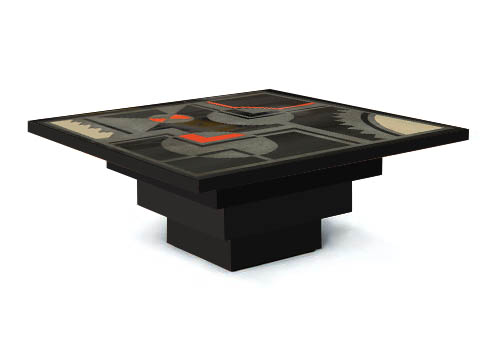 New Art Deco Skyser Style Stepped Coffee Tables