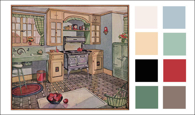 Art deco designer fitted kitchen introduction for Vintage art deco interior design