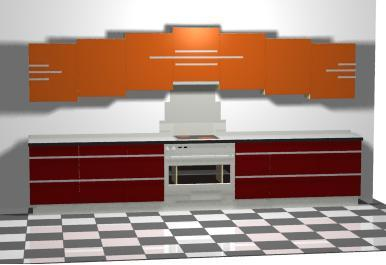 ... New Art Deco Stepped Skyscraper Style Fitted Kitchen. Kitchens Designs