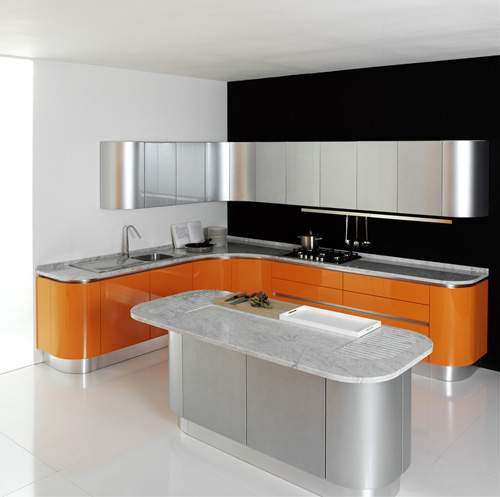Art deco kitchen budgets advice for Latest kitchen furniture design