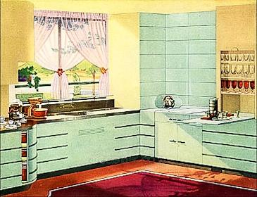 Original Art Deco Kitchens From The 1920s To 1940s