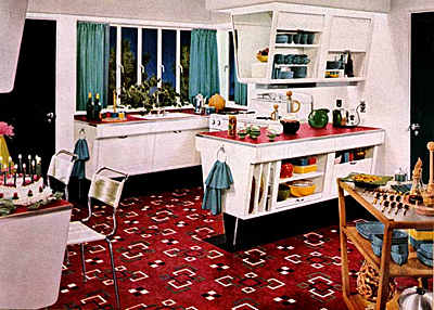 Kitchens on Original Art Deco Kitchens From The 1920s To 1940s