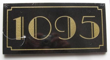 new Art Deco House numbers \u0026 name signs plates plaques