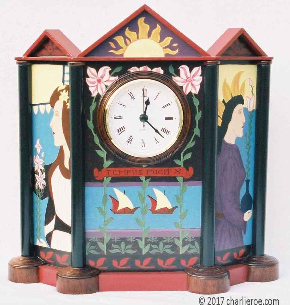 Art Nouveau Clock Designs