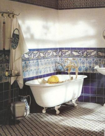 New arts crafts movement fittedbathrooms bathroom design - Arts and crafts style bathroom design ...