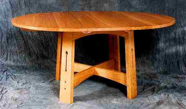 CFA Voysey Arts & Crafts Movement style dining furniture, chairs ...