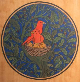 File Voewood 01 in addition 35875 Paper Plate Turtle Craft Template additionally Interior Elements Craftsman Style House Plans as well TonyGeering furthermore What Is Art Deco Decorative Style. on arts and crafts movement