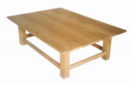 New Reproduction Arts Crafts Movement Mission Style Oak Coffee Tables