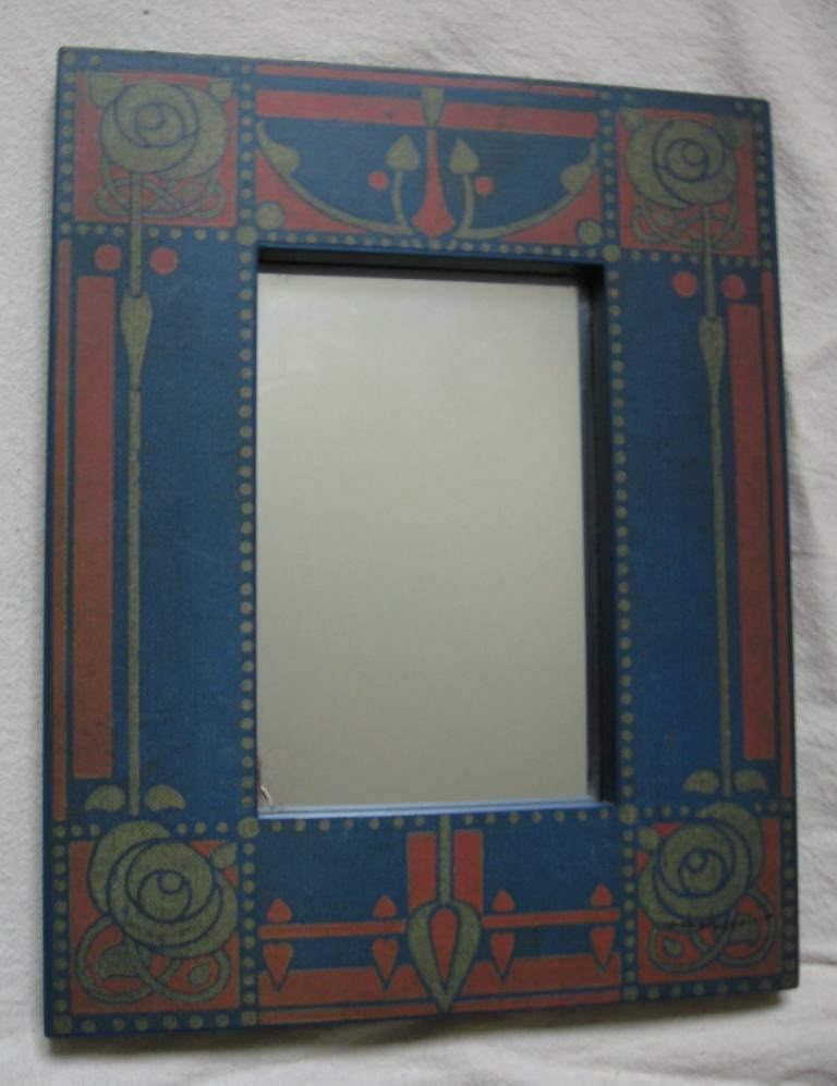 New arts crafts movement style mirror frames for Craftsman frame