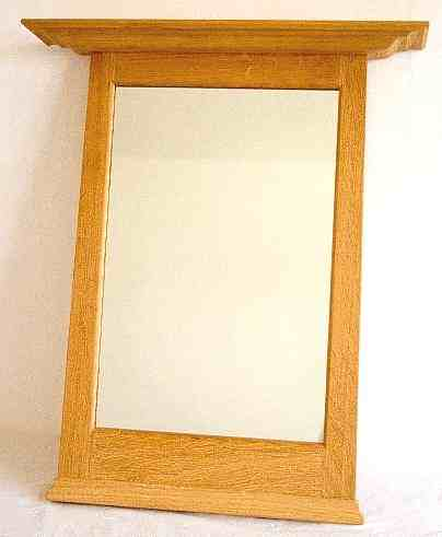 New Arts & Crafts Movement style mirror frames