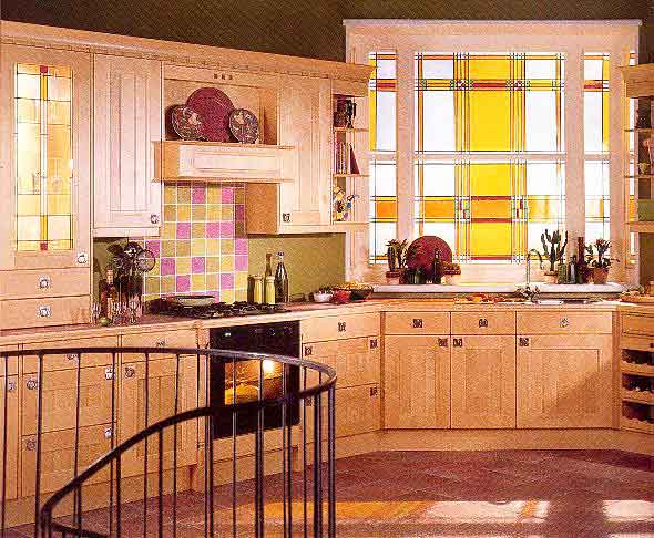 Arts and crafts movement kitchen for Arts and crafts kitchen design ideas