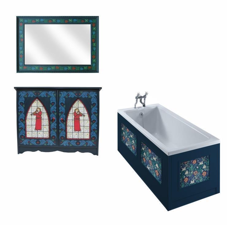 Astonishing New William Morris Style Arts Crafts Movement Bathroom Download Free Architecture Designs Scobabritishbridgeorg