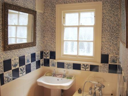 William morris style arts crafts movement bathrooms - Arts and crafts style bathroom design ...
