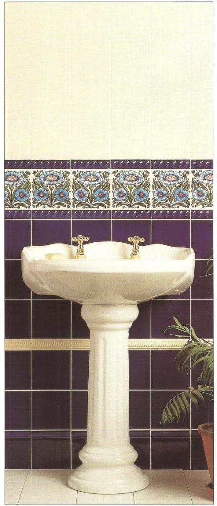 Swell New William Morris Style Arts Crafts Movement Bathrooms Download Free Architecture Designs Scobabritishbridgeorg