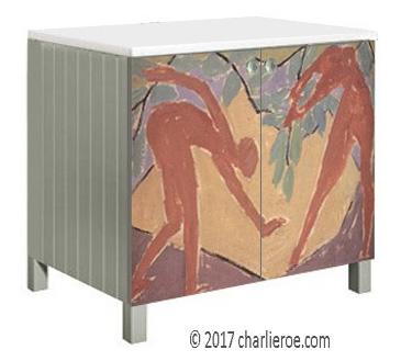 new omega workshops amp bloomsbury group painted furniture