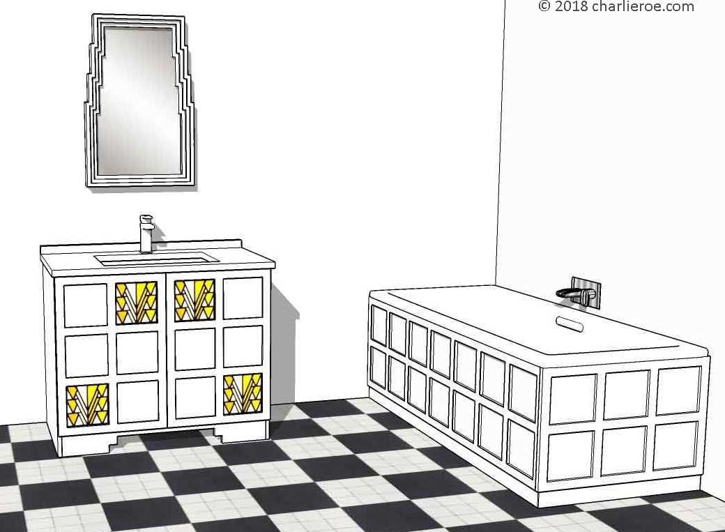 Cool  Luxury Bath Cloakroom Toilet Shower Basin Vanity Unit Mirror Cabinet