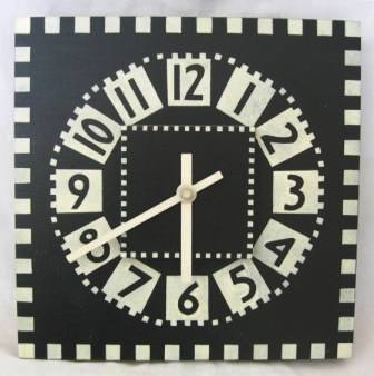 Charles Rennie CR Mackintosh Glasgow School of Art wall Clock