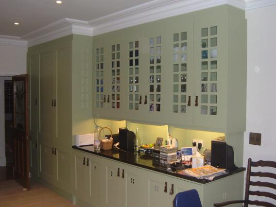 Charles Rennie Cr Mackintosh Glasgow School Fitted Painted