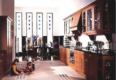 Charles rennie cr mackintosh glasgow school fitted wood for Kitchen furniture glasgow
