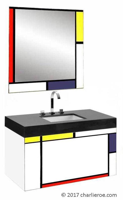 New Piet Mondrian Gerrit Rietveld De Stijl Movement