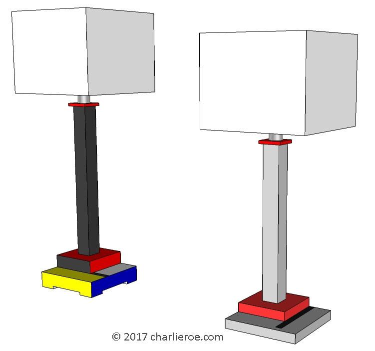 Hanging Lamp Gerrit Rietveld: New Gerrit Rietveld De Stijl Movement Piet Mondrian