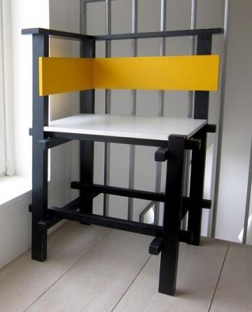 New Theo Van Doesburg De Stijl Chairs