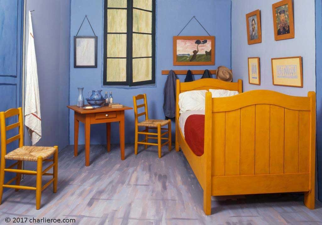 van gogh bedroom painting. van gogh bedroom in arles 20x24