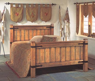 Gothic Revival Painted amp Wooden Beds Bedroom Furniture