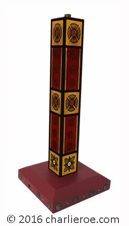 0be4209dbbc ... William Burges Gothic Revival style Painted stencilled lamps lights