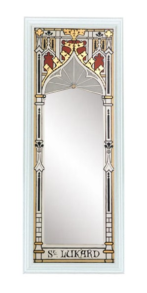 New Gothic Revival Style Ornate Decorative Painted