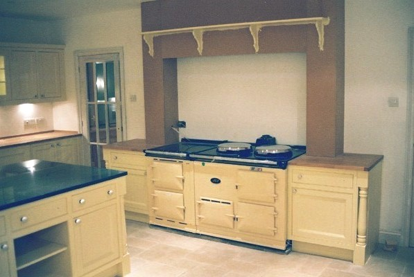 Designer Traditional Cream Hand Painted Fitted Kitchen
