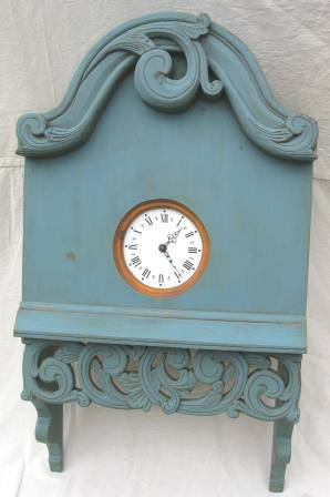 Scandinavian Swedish Norwegian Painted Amp Carved Wall Clocks