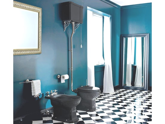 Art Deco Black Bathroom Suite Amp Bathroom Design