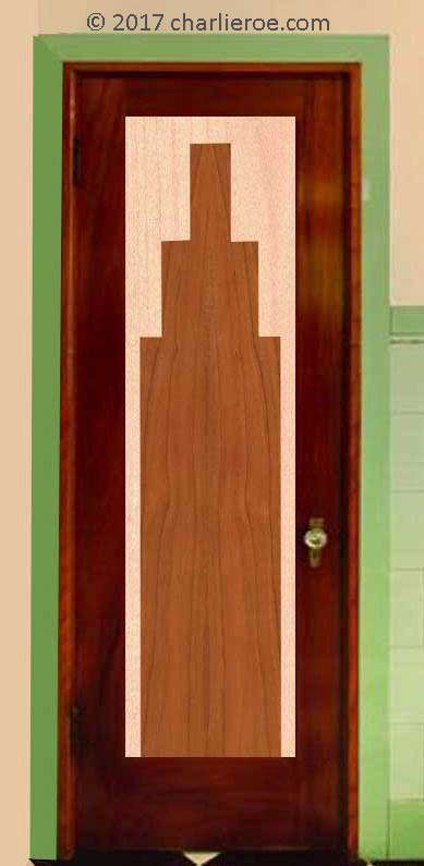 New Bespoke Art Deco Moderne Interior And Exterior Doors