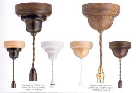 Art Deco 1920 S Style Bakelite Hardwood Light Pendants In Various Finishes