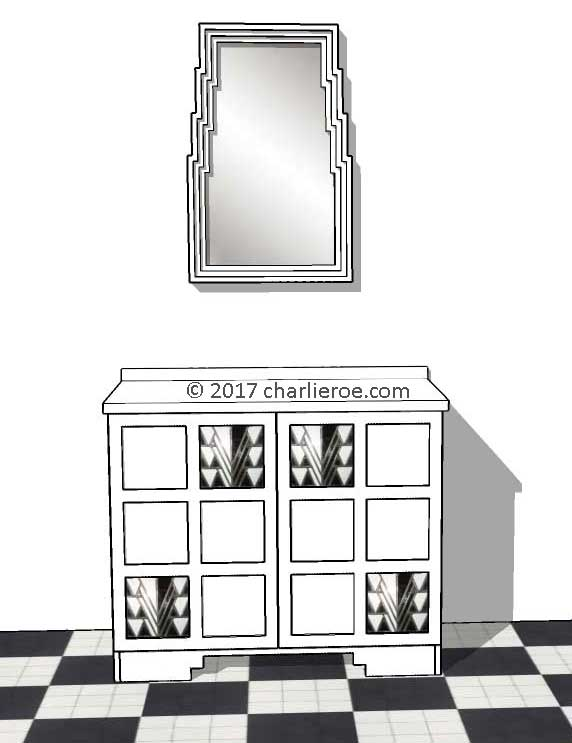 New Charles Rennie Cr Mackintosh Derngate Style Cabinets