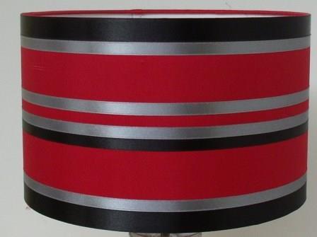 Lamp Shade Red Black Jpg