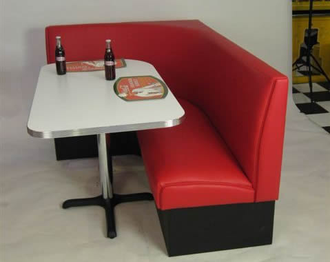 L Shaped Diner Booth Shapeyourminds Com