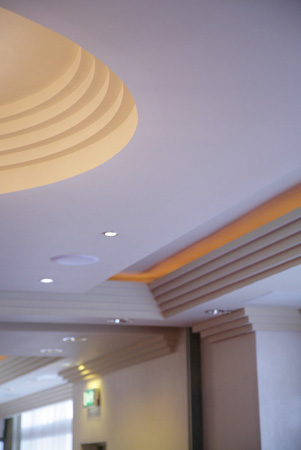 New Art Deco Fibrous Plaster Cornice Mouldings